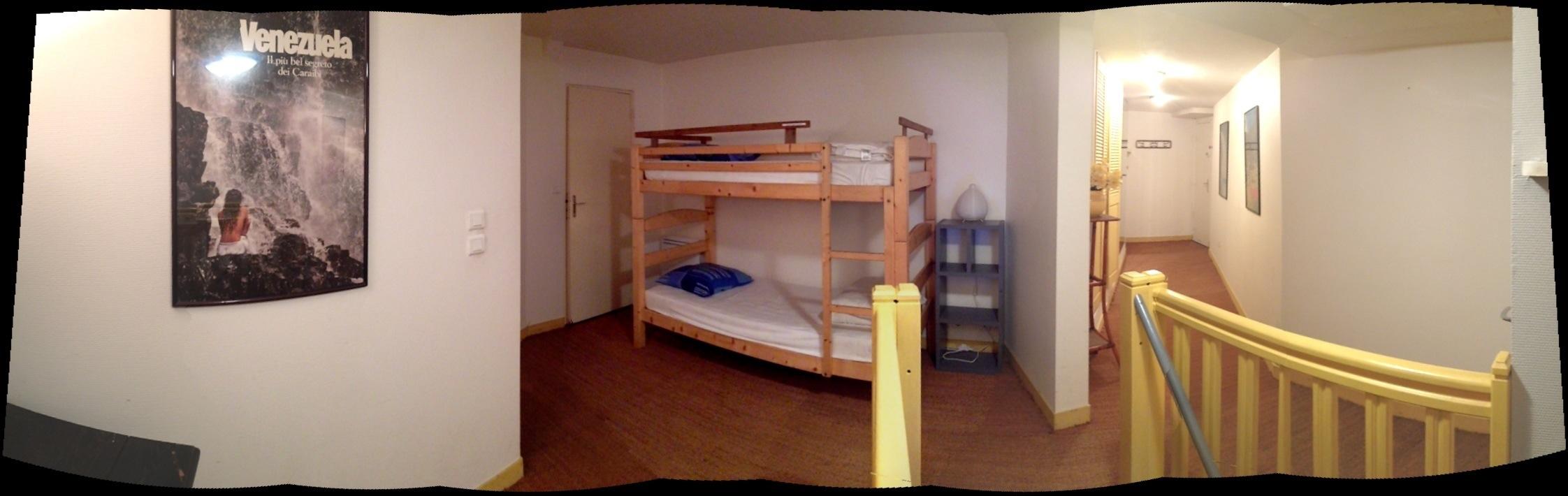 L'étage de l'appartement l'Etrille à Dinard