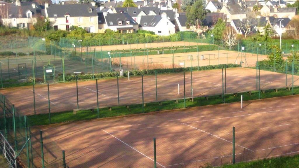 Le tennis club de Dinard